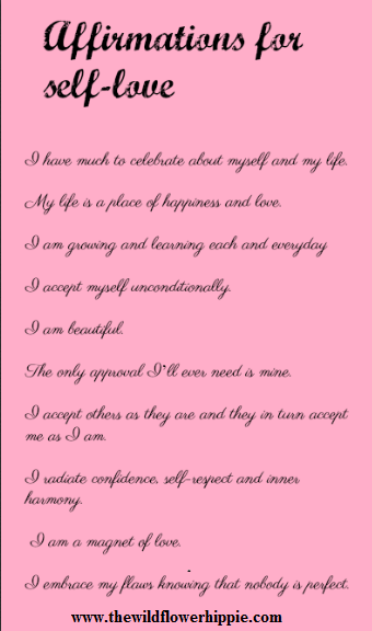 10 beautiful affirmations for self-love