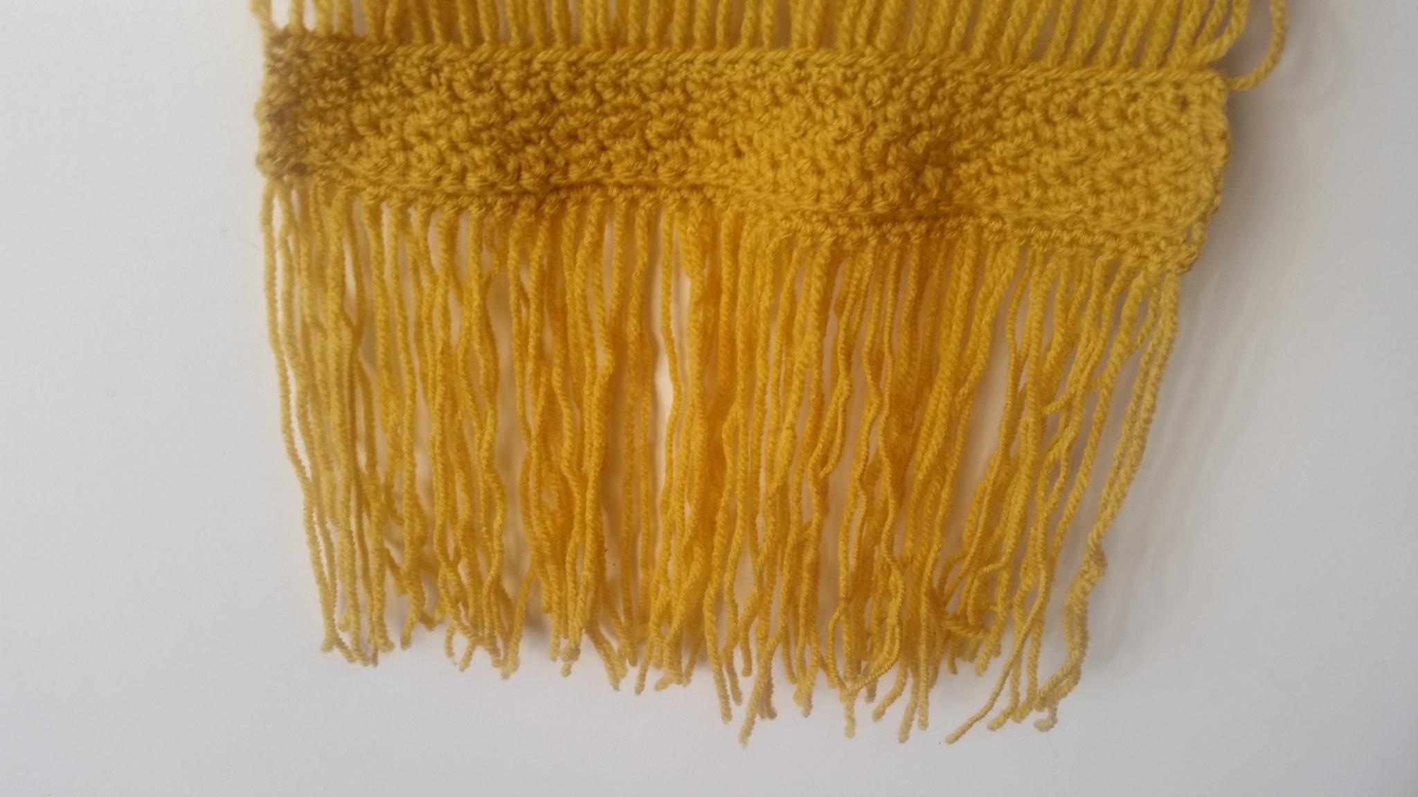 Crochet wall hanging