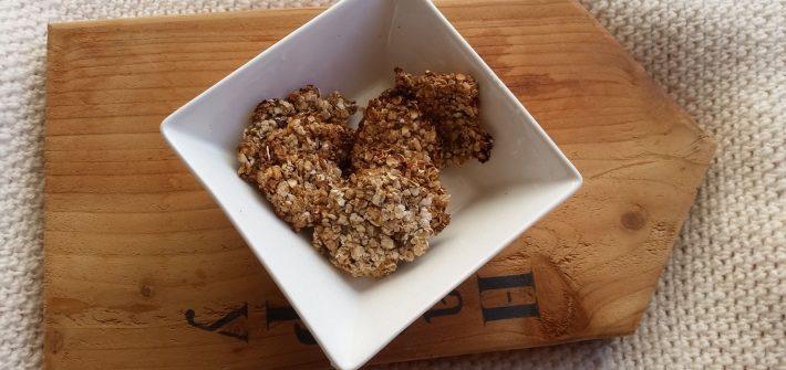 vegan banana cookies with oats
