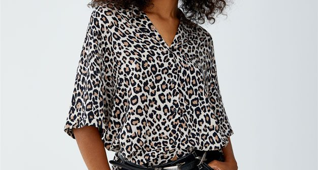 leopard printed clothing