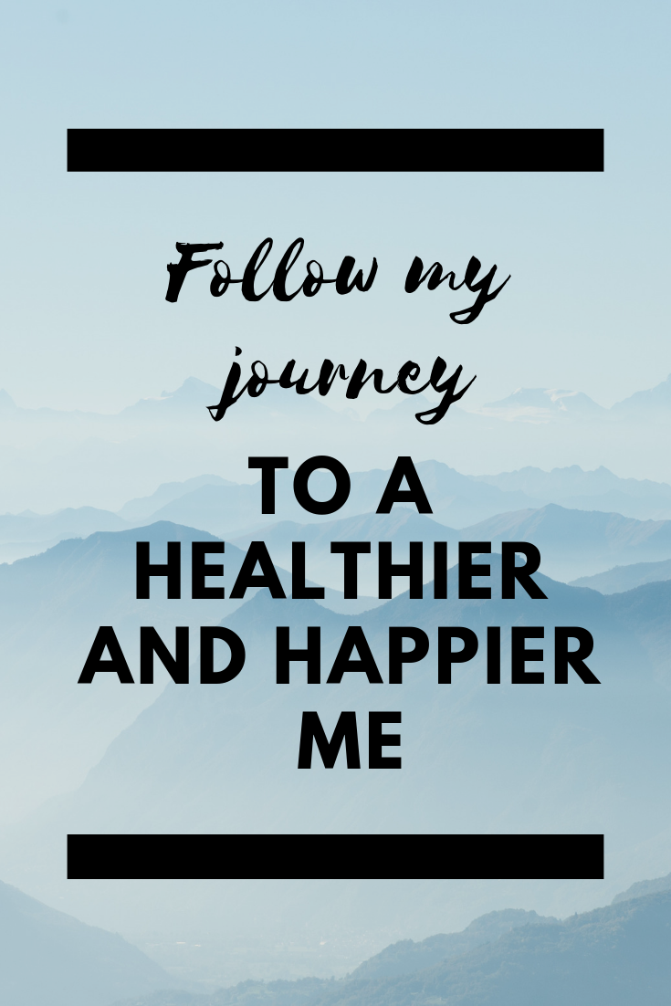 Follow my journey to a healthier and happier me