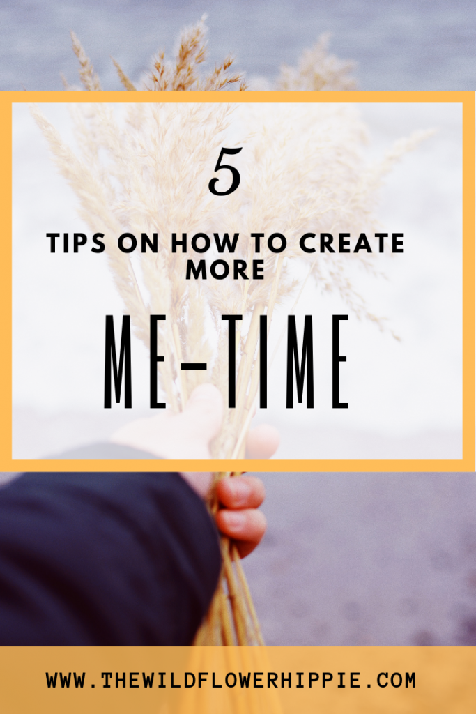5 tips to create more me-time
