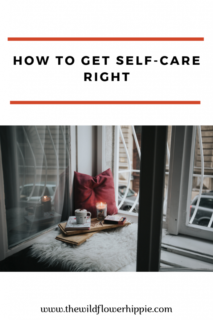 how to get self-care right