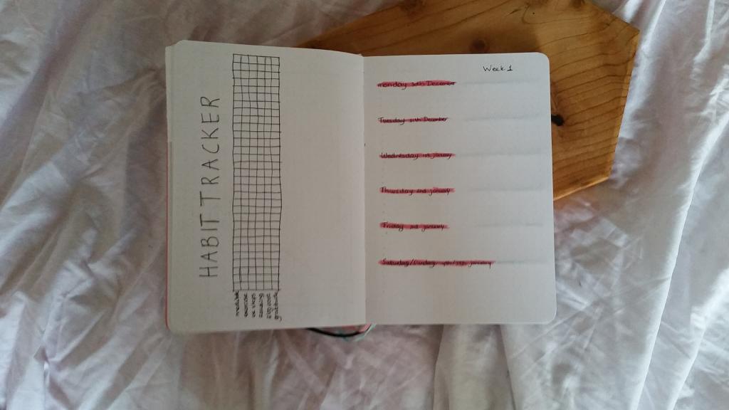 Mijn bullet journal voor 2020