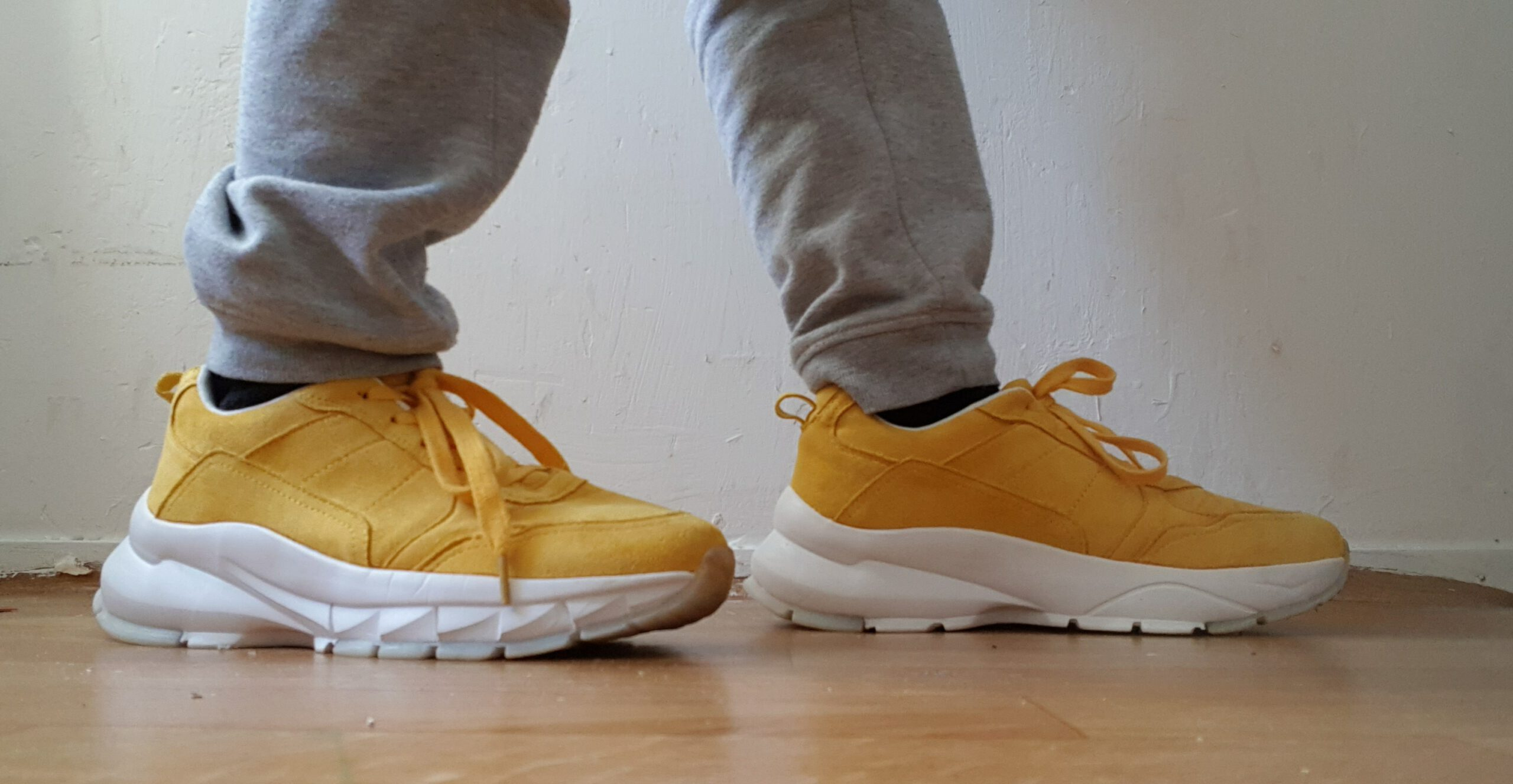 new yellow shoes